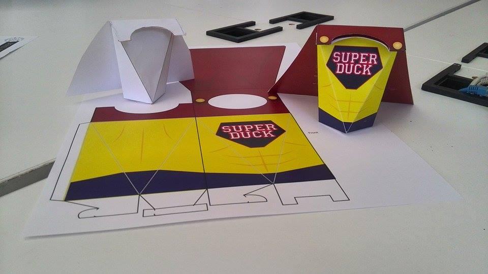 Cereal Box Design: Prototype (1/6)