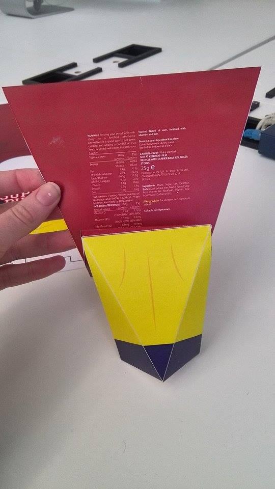 Cereal Box Design: Prototype (6/6)